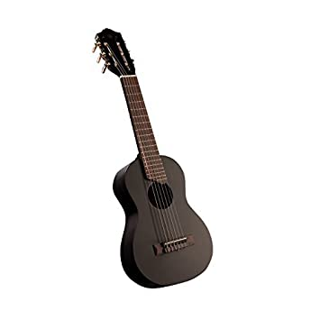 yamaha ukulele. yamaha gl1 guitalele ukulele with gig bag (black)