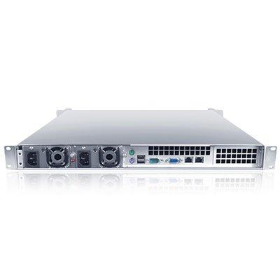 Sans Digital EliteNAS 1U 4 Bay Intel Xeon NAS + iSCSI with Redundant Power Rackmount Server EN104L+BXR (Black) by Sans Digital (Image #2)