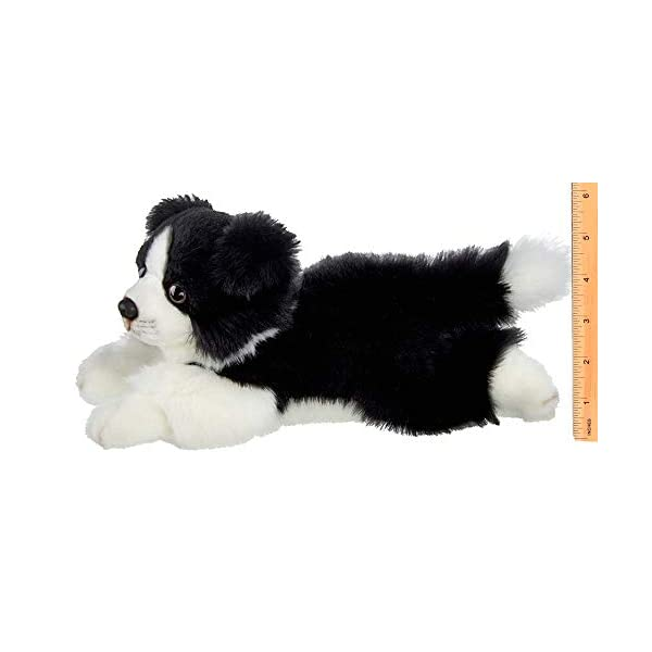 Bearington Shep Plush Border Collie Suffed Animal Puppy Dog, 13 Inches 4