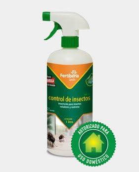 Insecticida Control de Insectos 1 Lt Fertiberia: Amazon.es: Jardín