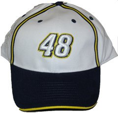 "NASCAR Jimmie Johnson #48 Trackside ""Number Series"" Cap"