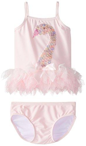 Kate Mack Baby Girls' Swan Lake Act 2 Skirted Tankini, Pink, 12 Months