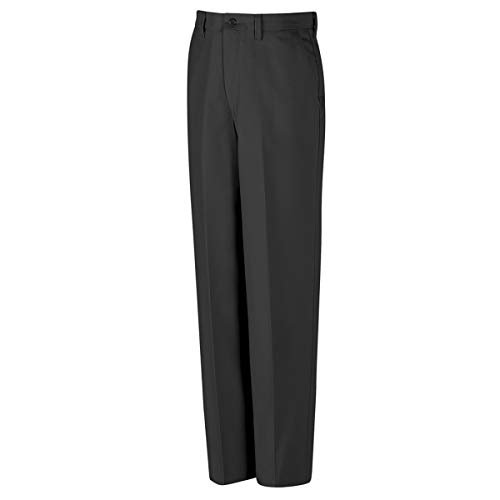 Red Kap 54'' X 36'' Charcoal Polyester/Cotton Pants With Zipper Closure by BULWARKRED KAP (Image #1)