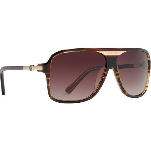VonZipper Stache Men's Designer Sunglasses/Eyewear - Tortoise/Brown Gradient / One Size Fits - Stache Sunglasses