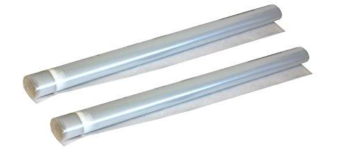 6' Laminate (Cal-Flor GA60242M 300 sq. ft. VaporBlock, 2 rolls of 6-mil Polyethylene Vapor Barrier Underlayment for Hardwood and Laminate Floors, 6' x 25')