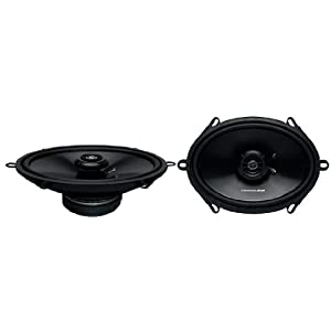 Lightning Audio L57 5x7-Inch 3-Way Full Range 4 OHM Speaker, Set of 2
