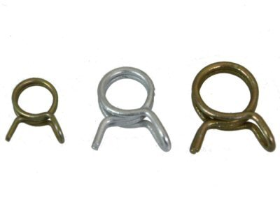 Helix Racing Products Hose Clamps, Set of 15