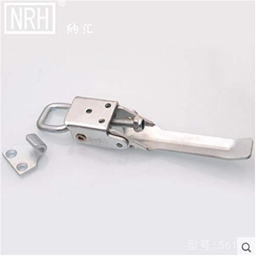 Ochoos NRH5617 Adjustable Button Truck Buckle Industrial Lock Luggage Buckle The Box Buckle Galvanized Iron