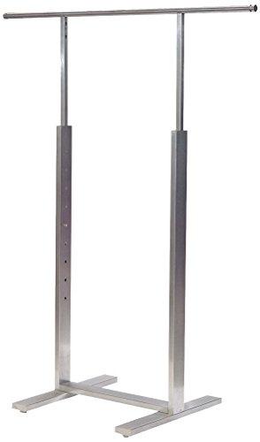 Econoco Bauhaus Series | Durable Adjustable Single Bar Merchandiser by Econoco