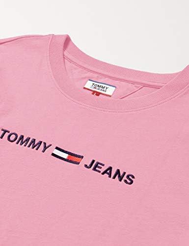 Tommy Jeans Tjw nowoczesna koszula damska z logo Linear: Odzież