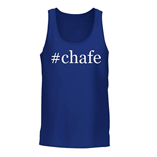 #Chafe - A Nice Hashtag Men's Tank Top, Blue, Large