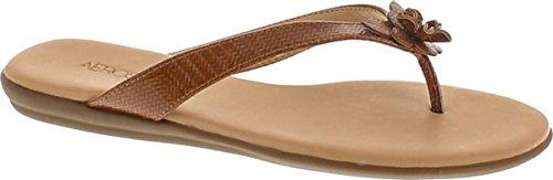 Aerosoles Women's Branchlet Flip Flop, Dark Tan Combo, 5.5 M US Dark Tan Combo