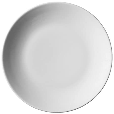 Royal Genware Coupe Plates 22cm - Pack of 6 | 8.5inch Dinner Plates White  sc 1 st  Amazon UK & Royal Genware Coupe Plates 22cm - Pack of 6 | 8.5inch Dinner Plates ...