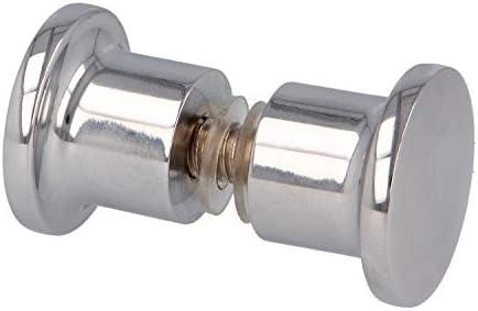 AMIG Pomos para puerta de ducha o baño en general cristal de mamparas de espesor entre 6MM y 12MM: Amazon.es: Bricolaje y herramientas