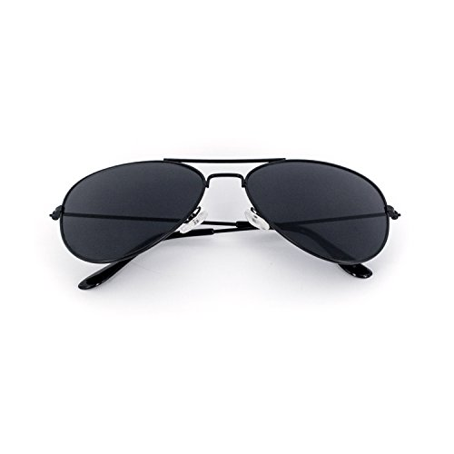 SWG Aviator Sunglasses - Matte Black / Smokey Lens Sport Edition Slim Fit 54mm - http://coolthings.us