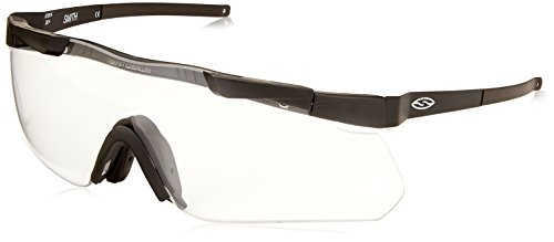 Smith Optics Elite Aegis Echo Asian Fit Eyeshields, Clear/Gray/Yellow, Black