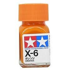 エナメル X-6 オレンジ
