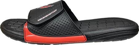 Zapatos Casuales De La Nhl Hombres Hockey Slide, Washington Capitals / Black, Lm Us