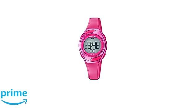 Calypso Reloj Digital para Mujer de Cuarzo con Correa en Plástico K5738/8: Calypso: Amazon.es: Relojes