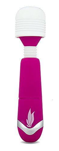 Eden Silicone Wand Mini Powerful Waterproof Vibrating Vibrator (Pink)