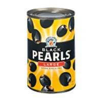 Black Pearls Large Pitted Ripe Olives 6 oz