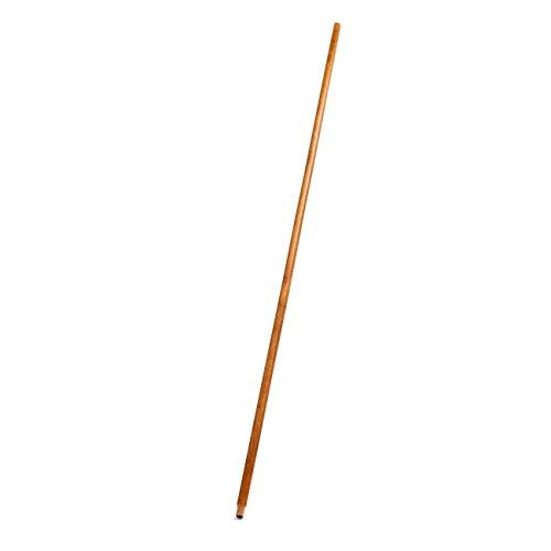 Rubbermaid Commercial Products FG636100LAC Lacquered Wood Handle with Threaded Tip, 60'' (Pack of 12) by Rubbermaid Commercial Products