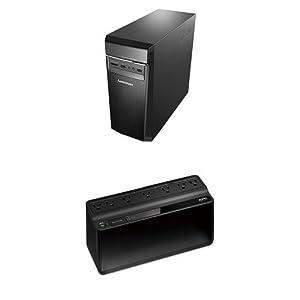 Lenovo Ideacentre 300 Desktop Computer with an APC 600VA Back-Up Power Supply  (Intel Core i3, 8GB DDR4 RAM, 1TB HDD, Windows 10) 90DA00LPUS