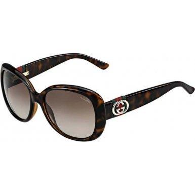Gucci Women's GG 3644/S Havana/Brown - Sunglasses 2013 Gucci