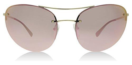 Prada Sport 51RS ZVN5L2 Pale Gold 51RS Sunglasses Lens Category 3 Lens - Sunglasses Prada Mirrored