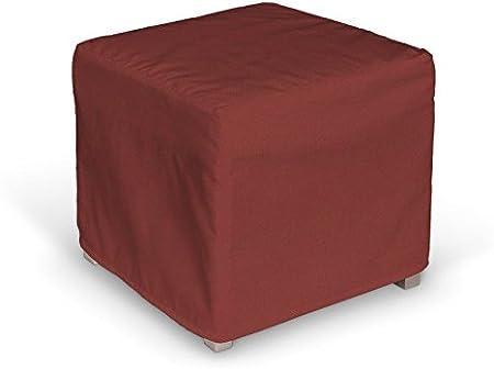 Dekoria Fire Retardant Ikea Solsta Pallbo Cube Housse Rouge Fonce Amazon Fr Cuisine Maison