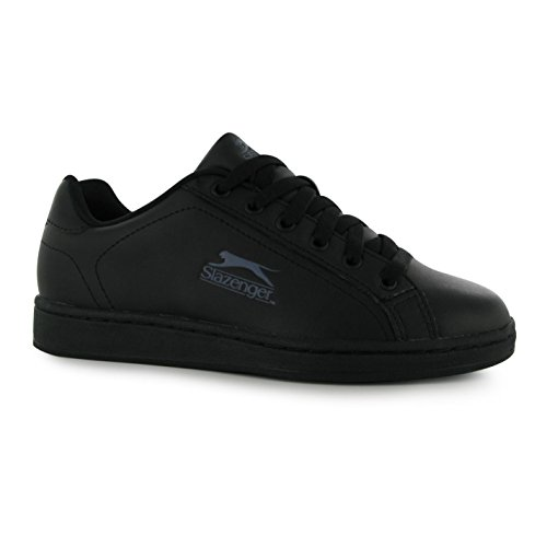 Slazenger One Schwarz Sneaker size Charcoal Slazenger Jungen mehrfarbig Jungen pqwPvzdq