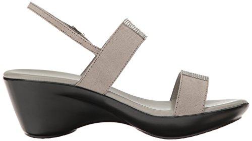 Athena Alexander Womens Skylaa Platform Dress Sandalo Grigio Scamosciato