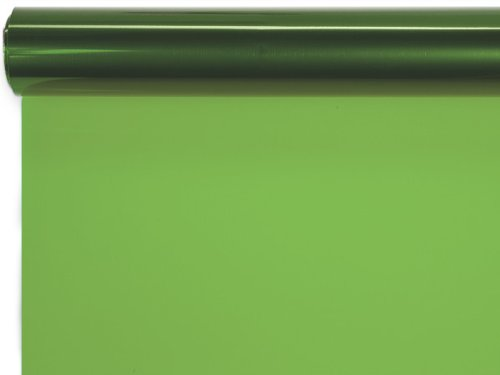 40''x100' Apple Green Cello Roll by Nas