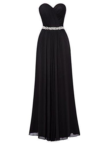long black evening dress size 14 - 1