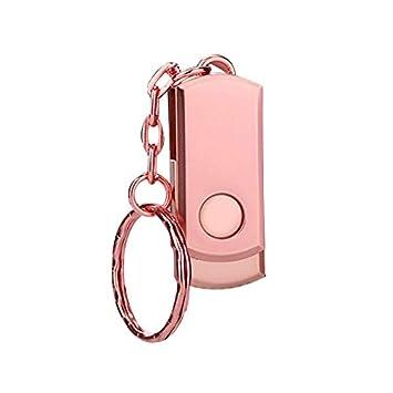 LFDUP Pen Drive USB Metal Rosa Unidad Flash Llavero Memoria ...
