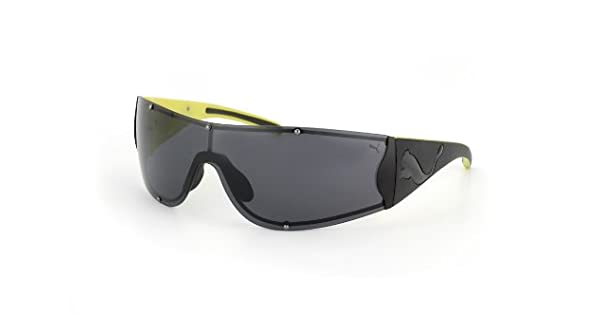 Amazon.com: Puma anteojos de sol PU 15124 Negro Shades: Clothing