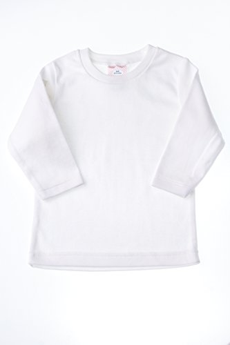 Cotton Baby Undershirt (Baby Jay Long Sleeve Cotton Undershirt T-Shirt, WTLR 12-18 1-Pack)