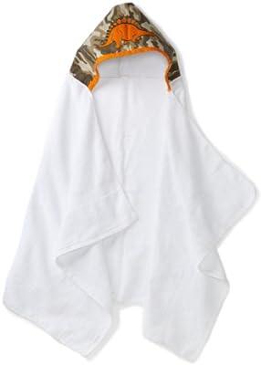 mini C-RED Unisex-baby Infant Dinosaur Hooded Bath Towel, Camo, 30 Inchx 50 Inch by mini C-RED