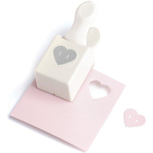 Martha Stewart Crafts Medium Double Punch, Heart Button by Martha Stewart Crafts