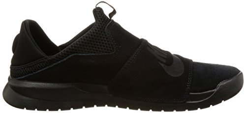 Nike BENASSI SLP Mens fashion-sneakers 882410-003_9.5 - BLACK/BLACK-BLACK by NIKE (Image #6)