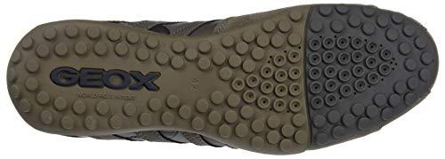 Grey C6140 Geox Uomo Taupe Ginnastica Scarpe K Basse Marrone da Snake OqwzvA1