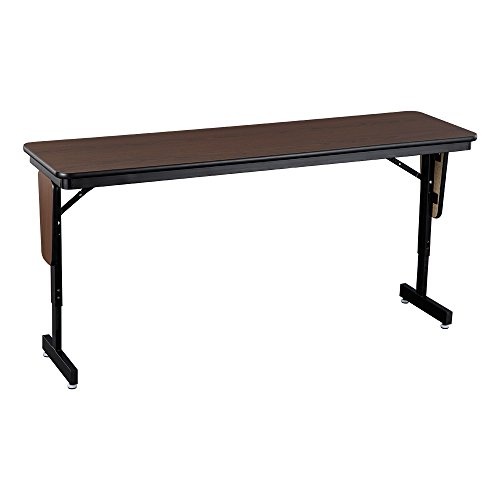 Norwood Commercial Furniture Adjustable-Height Folding Panel Leg Training Table, 60' W x 18' D, NOR-NUS1100A-SO