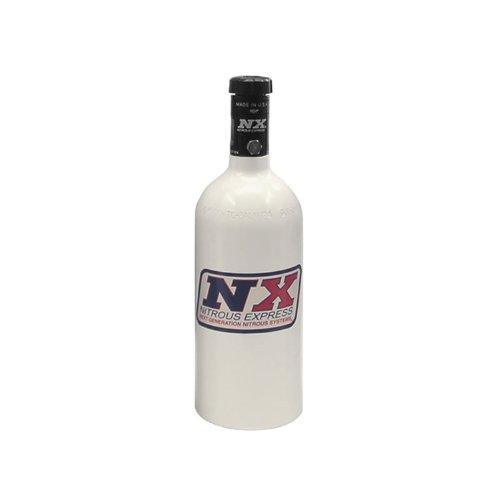 Nitrous Express 11010-P Polished Nitrous Bottle with Motorcycle Valve - 1 (Polished Nitrous Bottle)