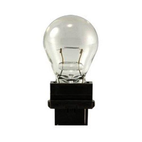 (HC Lighting - S8 Plastic Wedge Base Miniature Style Lamp Low Voltage 12 Volt Clear (10 Pack) (24 Watt) 3156)