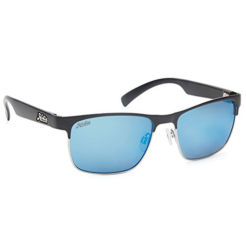 Hobie La Jolla Rimless Sunglasses,Satin Black , Shiny Silver , Satin Black Temples,56 - Amazon Sunglasses Hobie