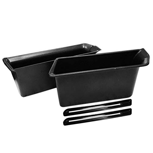 Hotiary 2PCS armrest Container Door Storage Box Storage Box