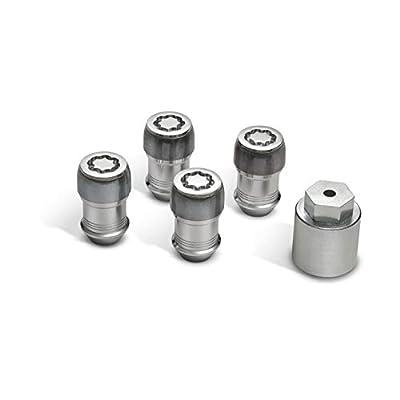 82215711 2020 Jeep Wrangler Wheel Locks - Set of 5: Automotive