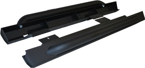 MBRP 130880 Black Coated Rock Rail Kit (2 Door) by MBRP