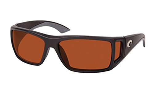 eed9ca6c8b Image Unavailable. Image not available for. Color  Costa Del Mar Sunglasses  - Bomba- Glass   Frame  Black Lens  Polarized Copper