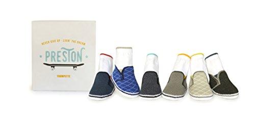 Trumpette Baby Boys Sock Set - 6 Pairs, preston/assorted Neutrals, 0-12 Months